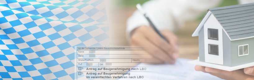 Bauantrag Bayern