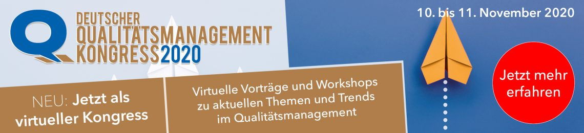 Deutscher Qualitätsmanagement Kongress 2020