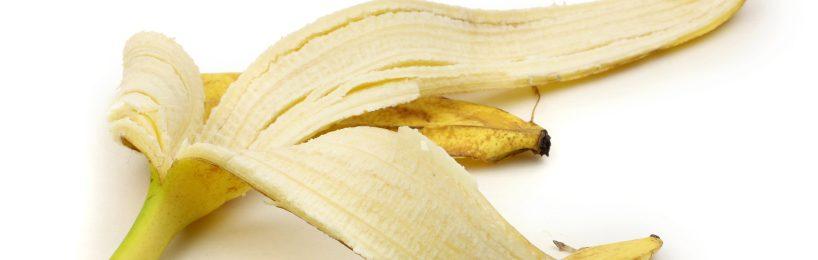Bananenschale auf dem Boden - ein klassischer Grund für Stolpern, rutschen und stürzen