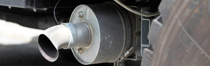 Kohlendioxid Lkw