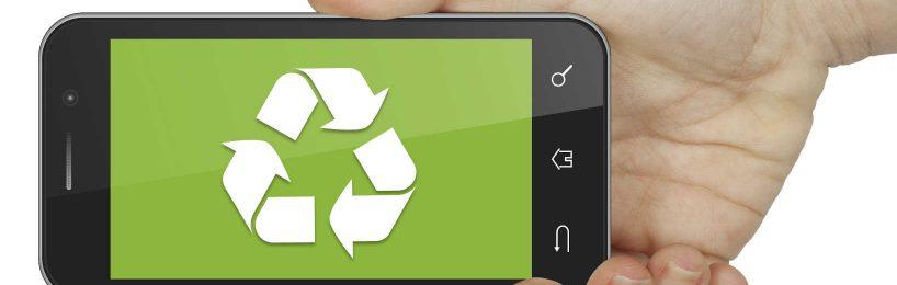Recycling von Mobiltelefonen