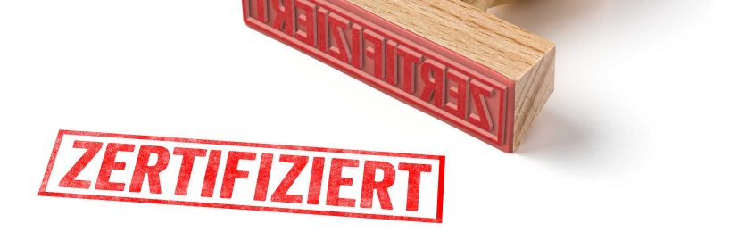 Zertifizierung Kassen
