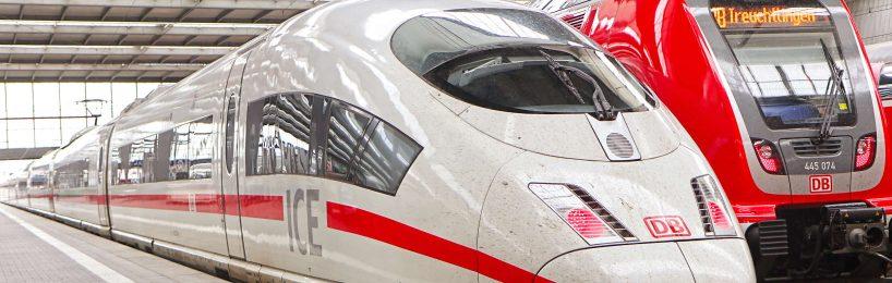 Bahn-Einkauf Pandemie