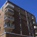 Die Muster-Holzbaurichtlinie regelt Anforderungen an solche mehrgeschossigen Gebäude aus Holz