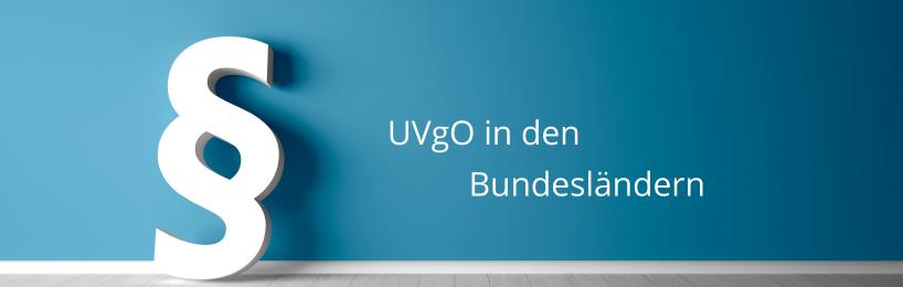 UVgO in den Bundesländern