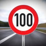 hintereinander aufgestellte Geschwindigkeitsbeschränkungen