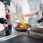 Küchengerüche Gaststätte