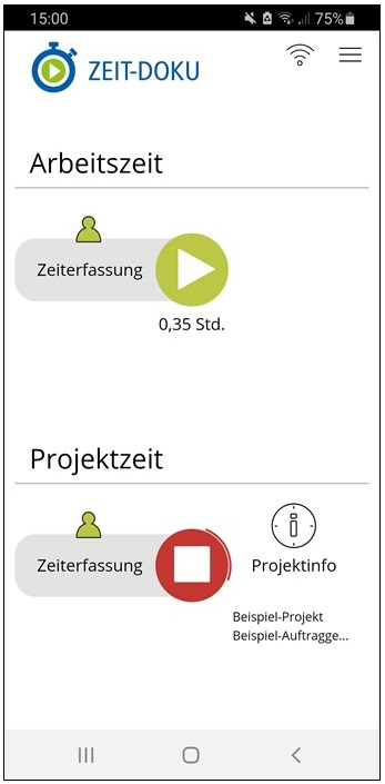 Zeiterfassung App