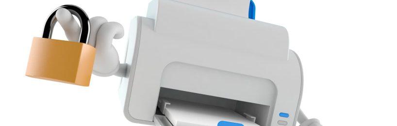 Datenschutzschulung Drucker