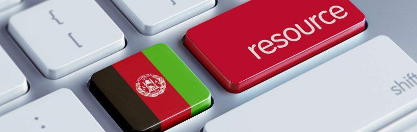Afghanistan Rohstoffquellen