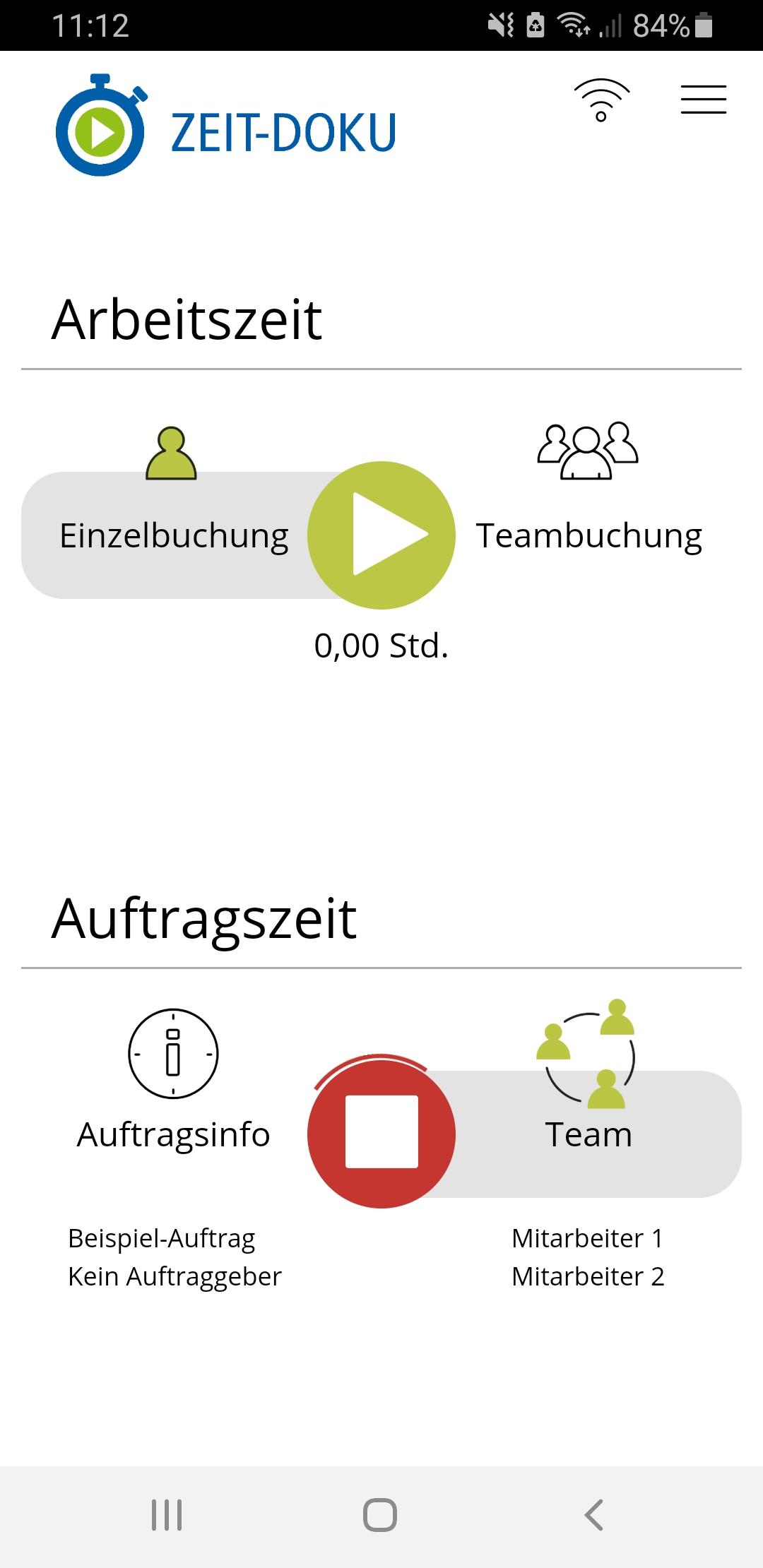 Zeiterfassung App Handwerker