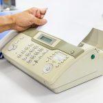 Entspricht ein Fax dem Datenschutz?